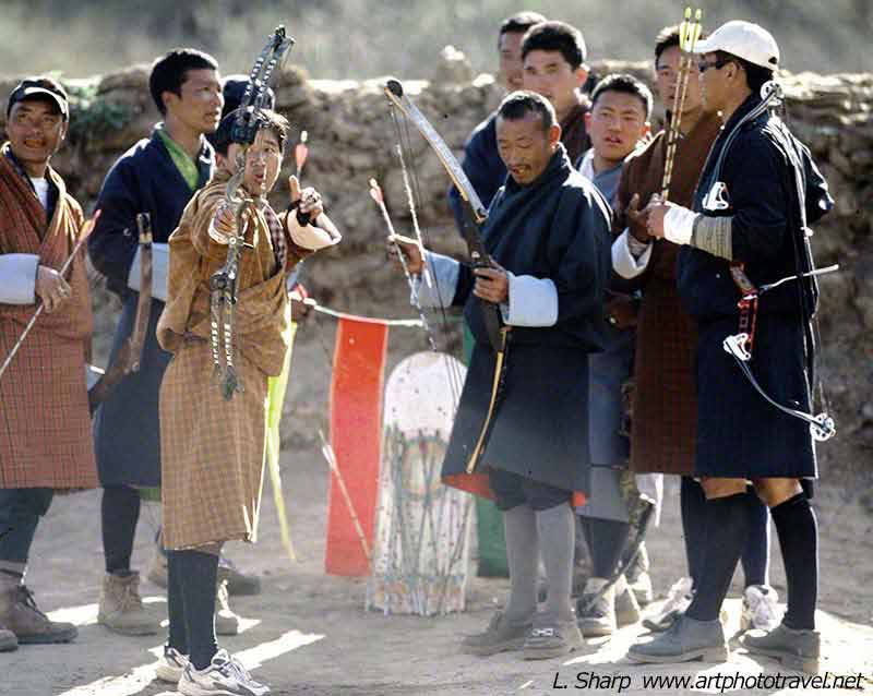 archery-competition-paro-bhutan