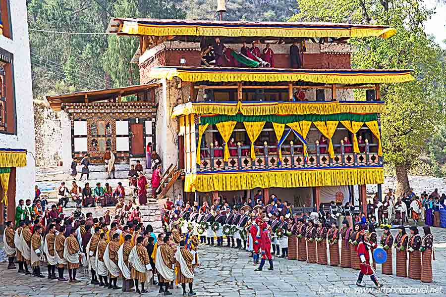 Paro-Tsechu-Day-2-opening-ceremony