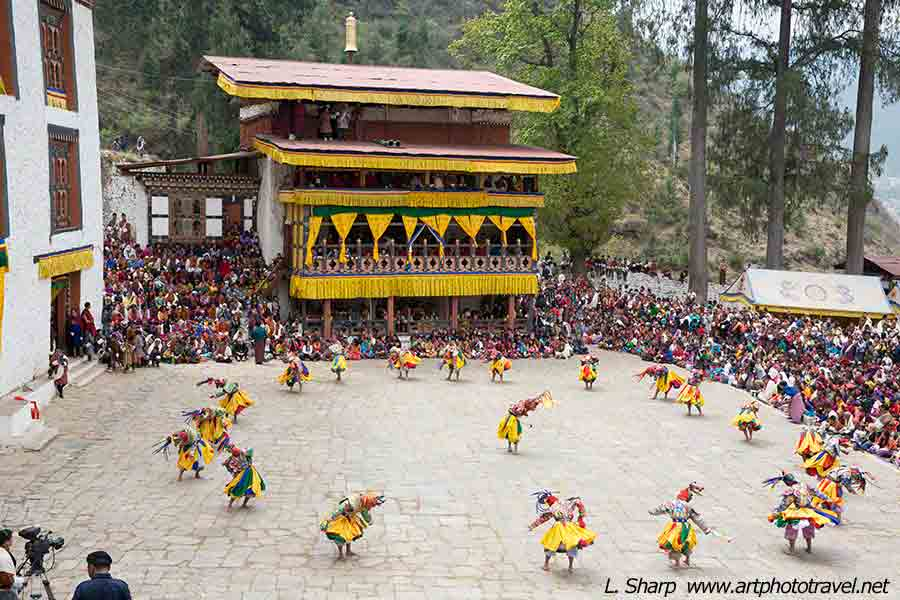 Paro-Tsechu-day-4-Dance-of-the-judgement-of-the-dead