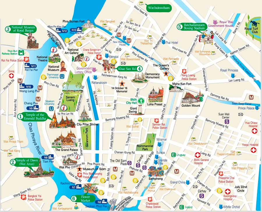 About BTS Bangkok Thailand Airport Map: Detail Bangkok Map for ... Bangkok Map