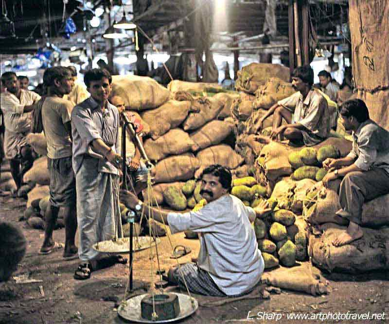 Kolkata covered markets