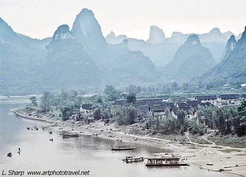 Xingping fishing village Li river