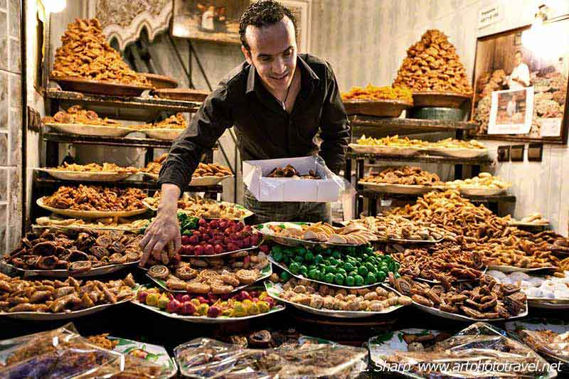 marrakech-sweet-stall