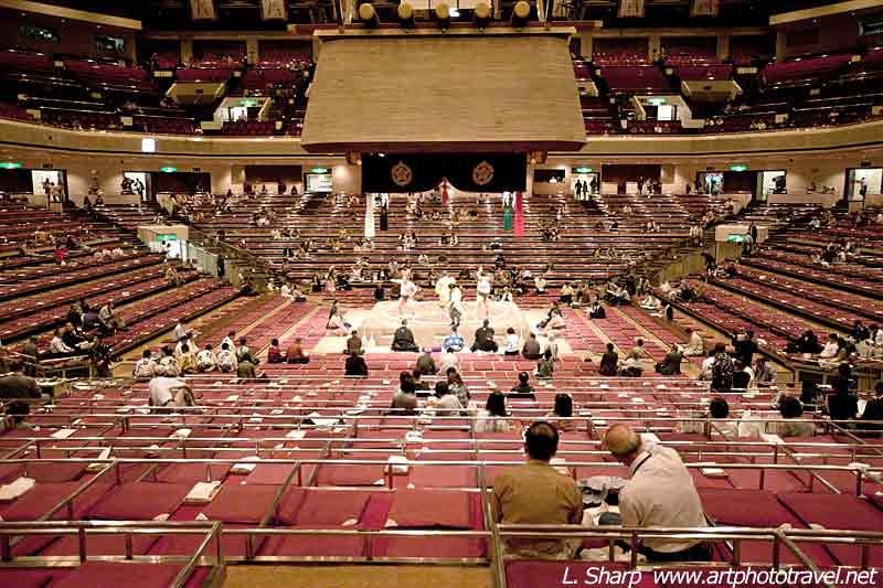 sumo-wrestling-1st-floor-view-Sumo-stadium