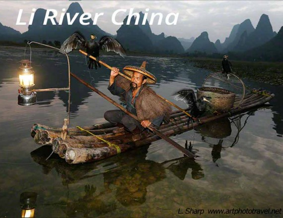 cormorant fisherman li river xingping china