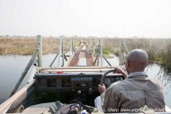 crossing the old duba plains bridge