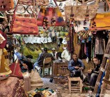 Marrakech souk shopkeepers