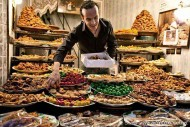 Marrakech sweet stall