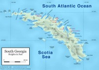 South Georgia detailed map. www.btinternet.com