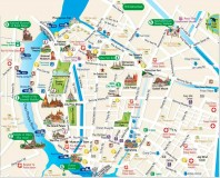 Tourist map. (Bangkok tourist maps)