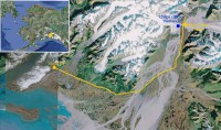 Childs Glacier map. (Google Maps)