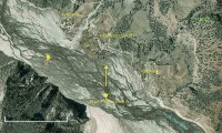 Best location for Dhaulagiri photo. (Google maps)