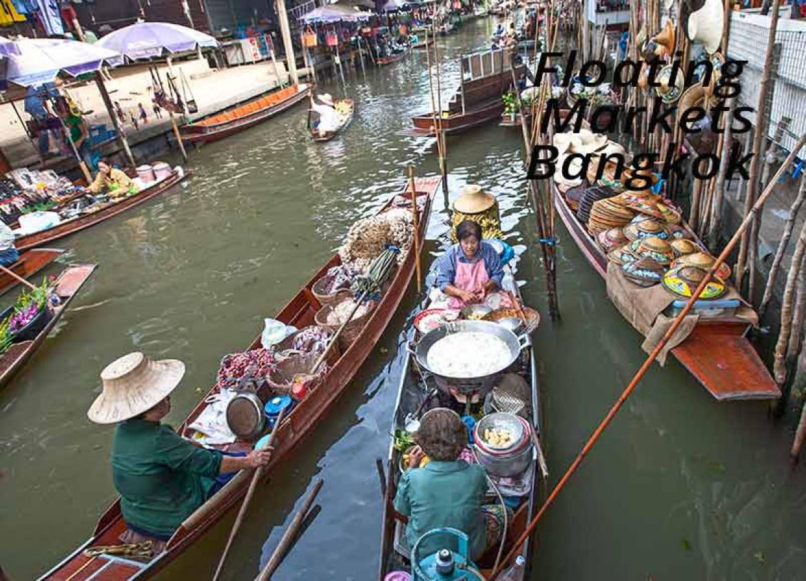 floating-markets-bangkok Damneon Sanduak