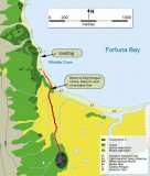 Fortuna bay map. www.sgisland.com