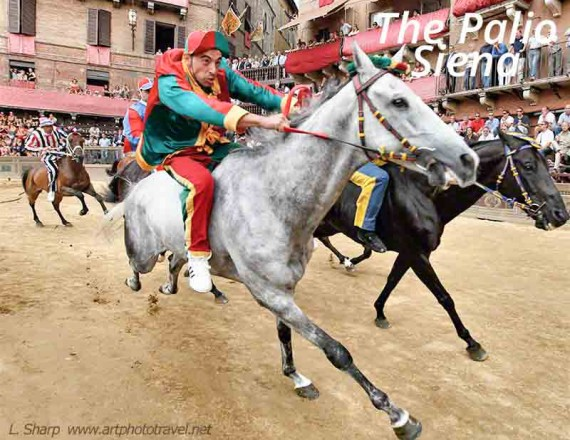 the first bend palio siena