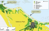 Salisbury Plains map. www.sgisland.com