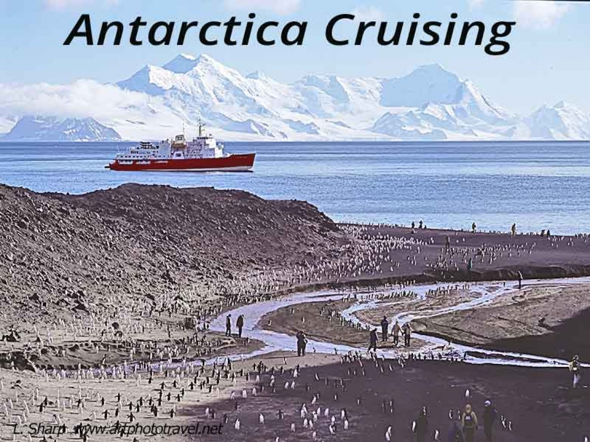 antarctica by expedition cruise ship deception island