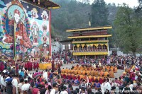 The final ceremony, and Thongdrel, Paro Tsechu
