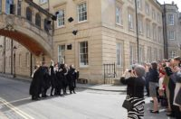 graduation-near-bridge of sighs Oxford