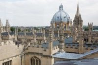 Oxford-spires from sheldonian theatre cupola