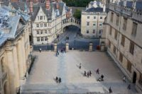 The Bridge Of Sighs Archway Oxford from Sheldonian cupola