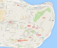 Istanbul Highlights map