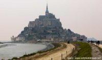 Mont St michel and the causeway