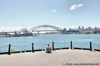 View from Mrs Macquarie's Chair sydney australia