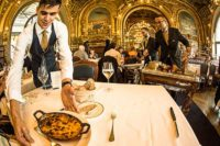 luncheon Le Train Bleu restaurant paris