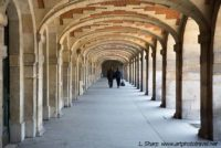 Arches of Place de vosges