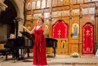 Operatic recital in the church of St Julien