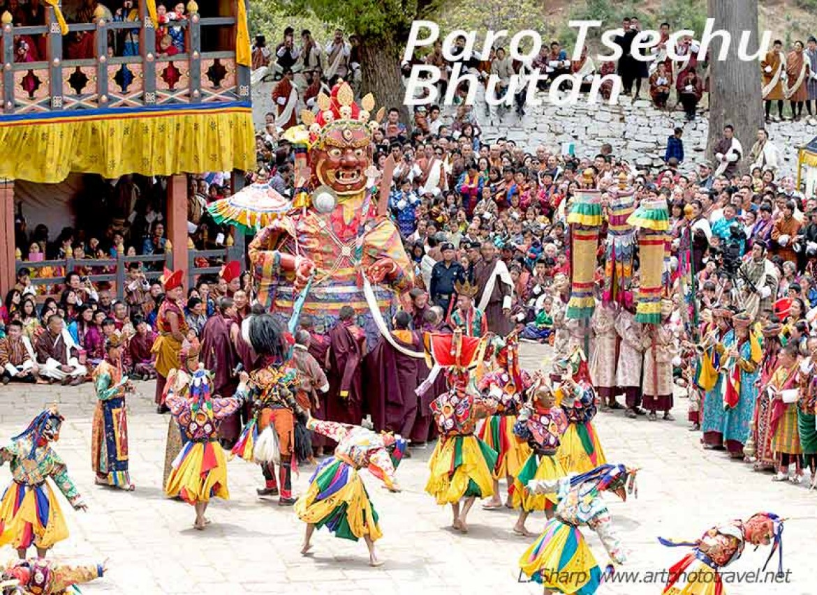 great Shinge paro tsechu bhutan