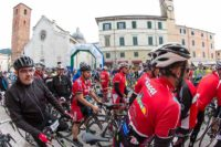 Inside the peloton Pietrasanta Italy