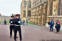 Changing the guard, Windsor Castle.